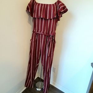 Fashion To Figure Size 1 Off the Shoulder Romper